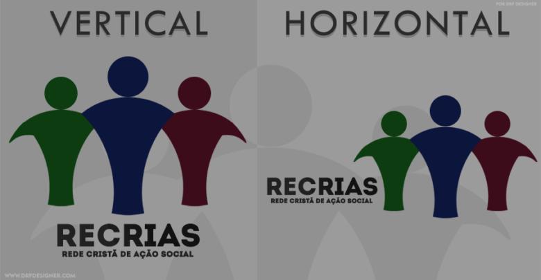 Destaque Logo RECRIAS - Rede Cristã de Ação Social - Blog DRF Designer
