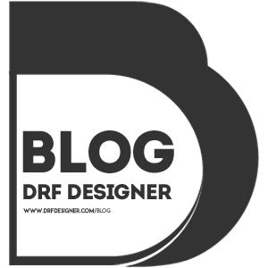 Blog DRF Designer. Design Gráfico, Designer Gráfico, Design Gráfico Brasil, Design, Comunicação Visual, Gráfica, Logotipo Blog, Logotipo Design, Logo Transparente, Logotipo transparente