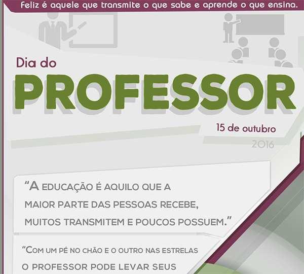 Banner Arte Dia do Professor IF Sertão Petrolina 2016 - Portfolio Design
