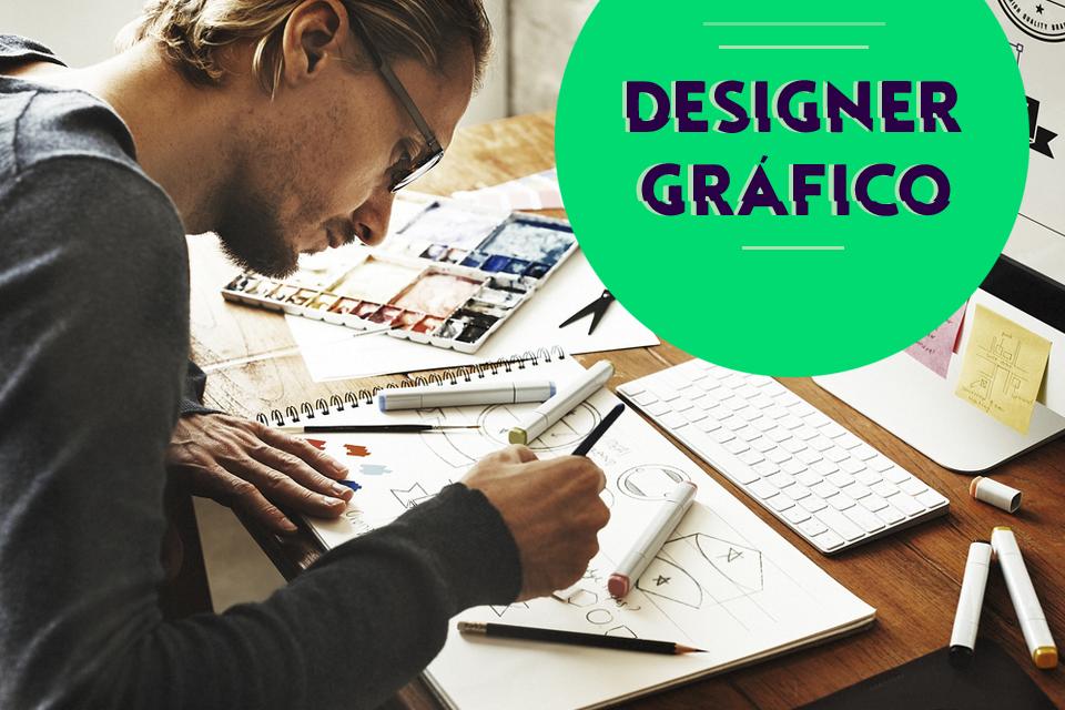Tudo sobre Designer Gráfico: perfil do profissional, salário, curso, áreas de atuação, opinião de profissional da área, experiências, portfólio de designer, mercado, contratar serviços, freelancer online