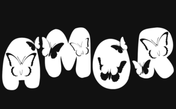 Tipografias e Letras - Alfabeto de Borboletas